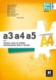 Yannick Cottineau - Gestion, vente et activités administratives liées à l'accueil A3, a4, a5 Bac Pro 1re Tle ARCU.