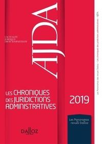 Yannick Faure et Clément Malverti - Les chroniques des juridictions administratives 2019 de l'AJDA.