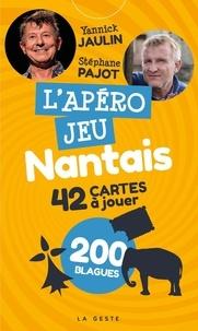 Yannick Jaulin - L'apéro jeu nantais - 42 cartes à jouer.