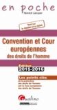 Yannick Lécuyer - Convention et Cour européennes des droits de l'homme - Tout sur la CESDH et la CEDH.