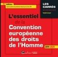 Yannick Lécuyer - L'essentiel de la convention européenne des droits de l'Homme.