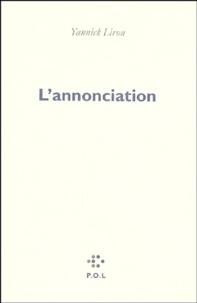 Yannick Liron - L'annonciation.