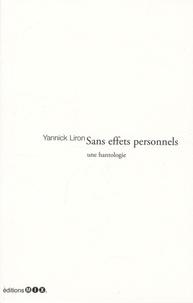 Yannick Liron - Sans effets personnels.
