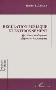 Régulation publique et environnement. - Questions écologiques Réponses économiques.pdf