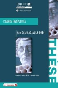Yao Délali Adjalle-Dadji - L'oeuvre inexploitée.