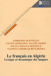 Yasmina Cherrad-Benchefra et Ambroise Queffélec - .