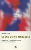 Yasmine Carlet - Stand down Margaret ! - L'engagement de la musique populaire britannique contre les gouvernements Thatcher.