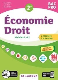 Yassin Filali et Julie Jouen - Economie-droit 2de Bac Pro - Pochette élève.