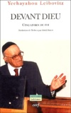 Yechayahou Leibovitz - Devant Dieu - Cinq livres de foi.
