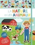 Yi-Hsuan Wu - La nature et les animaux - Cahier + autocollants.