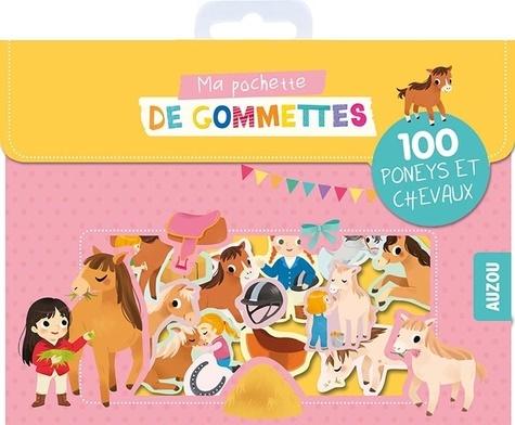 Ma pochette de gommettes. 100 poneys et les chevaux