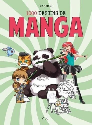 1000 Dessins De Manga Grand Format