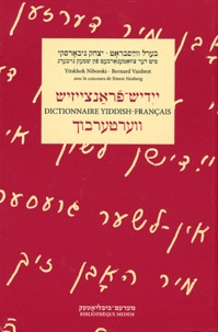 Yitshok Niborski et Bernard Vaisbrot - Dictionnaire yiddish-français.