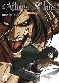 Ynnis Editions - Agenda L'Attaque des Titans.