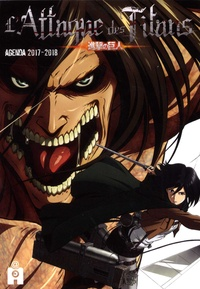 Ynnis Editions - L'Attaque des Titans - Agenda.