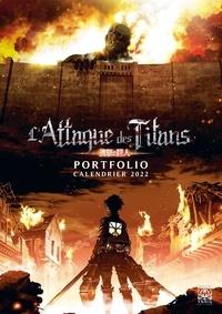 Ynnis Editions - Portfolio Calendrier Attaque des Titans.