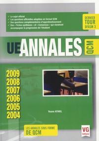 Yoann Athiel - UE annales QCM - 2004-2009.