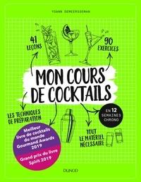 Yoann Demeersseman - Mon cours de cocktails en 12 semaines chrono.