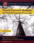 Yoav Goldberg - Neural Network Methods for Natural Language Processing.