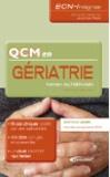 Yohan Altervain - QCM en gériatrie.