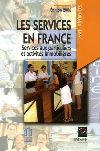 Yohan Baillieul et Sonia Besnard - Les services en France - Services aux particuliers et activités immobilières.