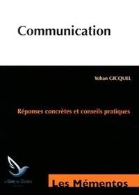 Yohan Gicquel - Communication.