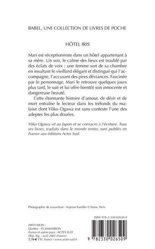 Hôtel Iris 2e édition