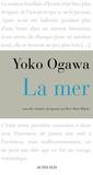 Yoko Ogawa - La mer.