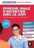 Yolande Ferrandis - Epreuve orale d'entretien avec le jury - Toutes fonctions publiques, tous concours, catégories A et B.