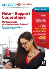 Yolande Ferrandis - Note - Rapport - Cas pratique - Méthodologie et entraînement intensif, toutes fonctions publiques, catégories A et B.