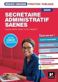 Yolande Ferrandis et Nadine Bonhivers - Reussite Concours - Secrétaire administratif, SAENES - Catégorie B - 2020 - Préparation complète.