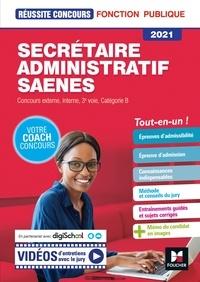 Yolande Ferrandis et Nadine Bonhivers - Reussite Concours - Secrétaire administratif, SAENES - Catégorie B - 2021 - Préparation complète.