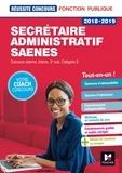 Yolande Ferrandis et Nadine Bonhivers - Secrétaire administratif/SAENES - Concours externe, interne, 3e voie, catégorie B.
