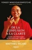 Yongey Mingyour Rinpotché - De la confusion à la clarté - Guide des pratiques du bouddhisme tibétain.