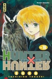 Téléchargement au format jar des ebooks gratuits Hunter X Hunter Tome 18 en francais  par Yoshihiro Togashi