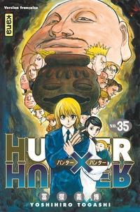 Téléchargements gratuits e book Hunter X Hunter Tome 35 par Yoshihiro Togashi