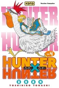 Téléchargement ebook gratuit en pdf Hunter X Hunter. Tome 4 9782505044048 par Yoshihiro Togashi en francais