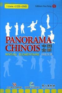 You-Feng - Panorama chinois - Niveau élémentaire. 1 DVD + 2 CD audio