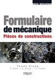 Youde Xiong - Formulaire de mécanique - Pièces de constructions.