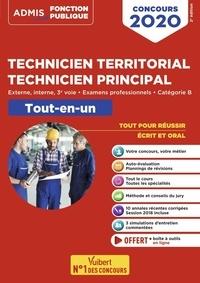 Youenn Fenard et Pierre Crépeaux - Concours Technicien territorial, Technicien principal, catégorie B - Tout-en-un.