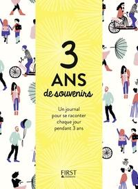 Accentsonline.fr 3 ans de souvenirs - Un journal pour se raconter chaque jour pendant 3 ans Image