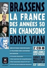 Youmna Tohmé - La France des années 50 en chansons - Brassens, Boris Vian. 2 CD audio