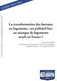 Younès Es Saddiki - La transformation des bureaux en logements :  un palliatif face au manque de logements neufs en France ? - Année 2013-2014.