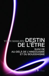 Youri Mamleev - Destin de l'être - Suivi de au-delà de l'hindouisme et du bouddhisme.