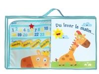 Yoyo Books - Du lever le matin... - Le premier calendrier de Monsieur Girafe. Avec un calendrier en coton brodé.