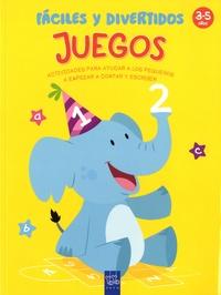 Yoyo Books - Juegos faciles y divertidos - Actividades par ayudar a los pequenos a empezar a contar y escribir. 3-5 anos.