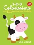 Yoyo Books - Mes 100 premiers mots à colorier - Une vache.