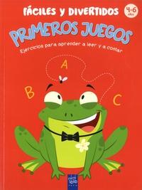 Yoyo Books - Primeros juegos faciles y divertidos - Ejercicios par aprender a leer y contar. 4-6 anos.