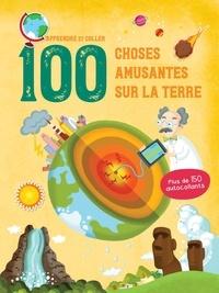 100 choses amusantes sur la Terre- Plus de 150 autocollants -  Yoyo éditions |