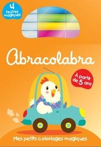 Yoyo éditions - Abracolabra 5+ - Mes petits coloriages magiques.